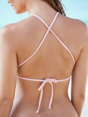 Angelsin Şık Pembe Tankini Bikini Takım