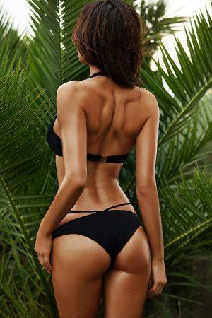 Angelsin Siyah Süper Tasarım Bikini