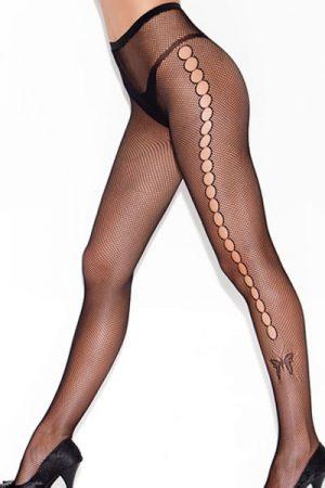 Merry See Kelebek Fiğürlü Külotlu Çorap
