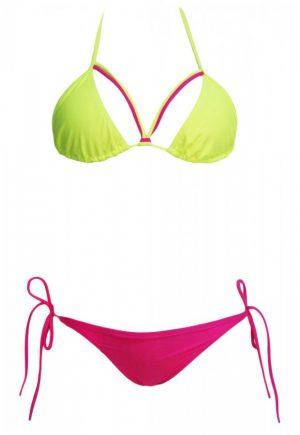 Renkli Özel Tasarım Bikini