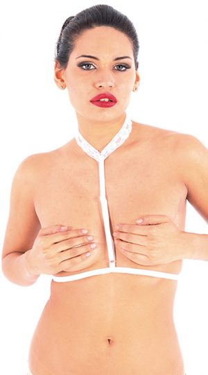 Vixson Beyaz Dantelli Vixsolette Bralet Aksesuarı
