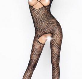 Vixson Desenli Vücut Çorabı