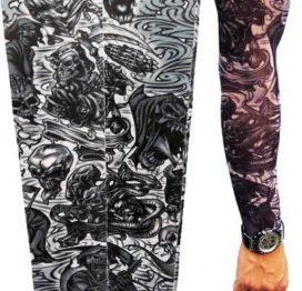 Tattoo İskelet Motifli Giyilebilir Dövme